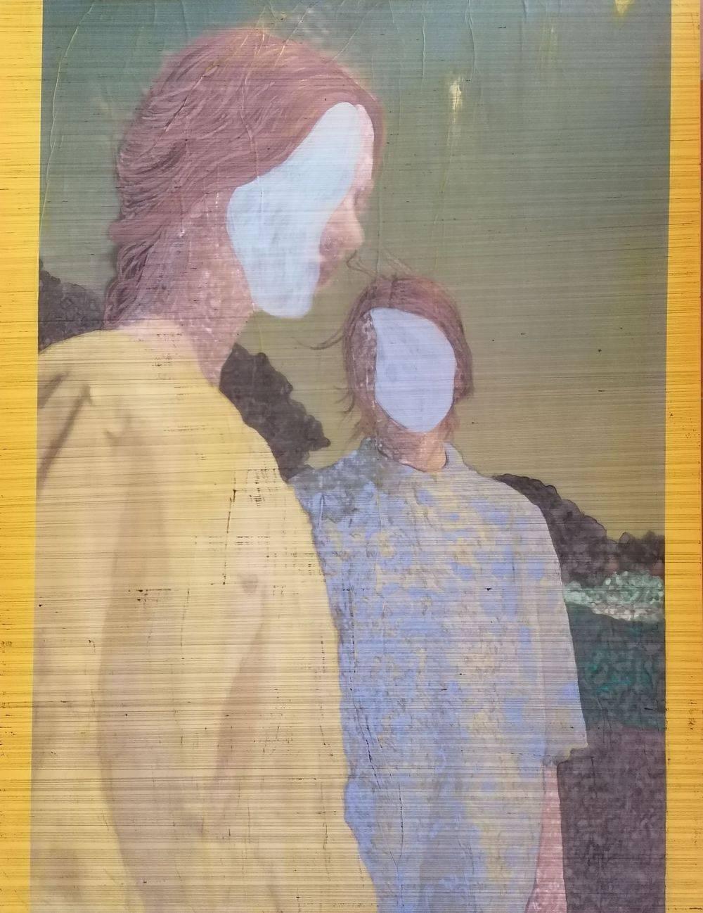Aquarelle, Femme, Jaune, Bic, Histoire de l'art, Portrait