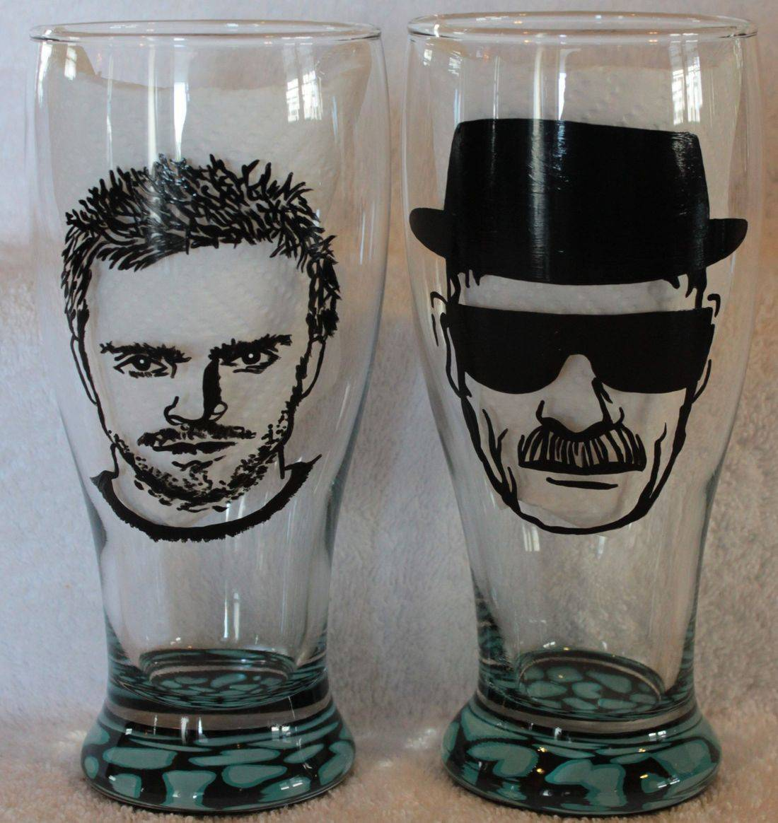 Heisenberg wine glass