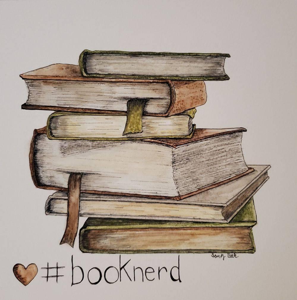 sandy bock, watercolor artist, cleveland, library art, design, books, illustration artist