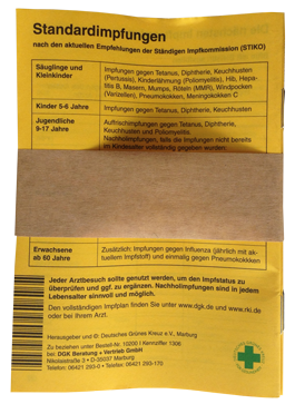 Banderole Papier braun