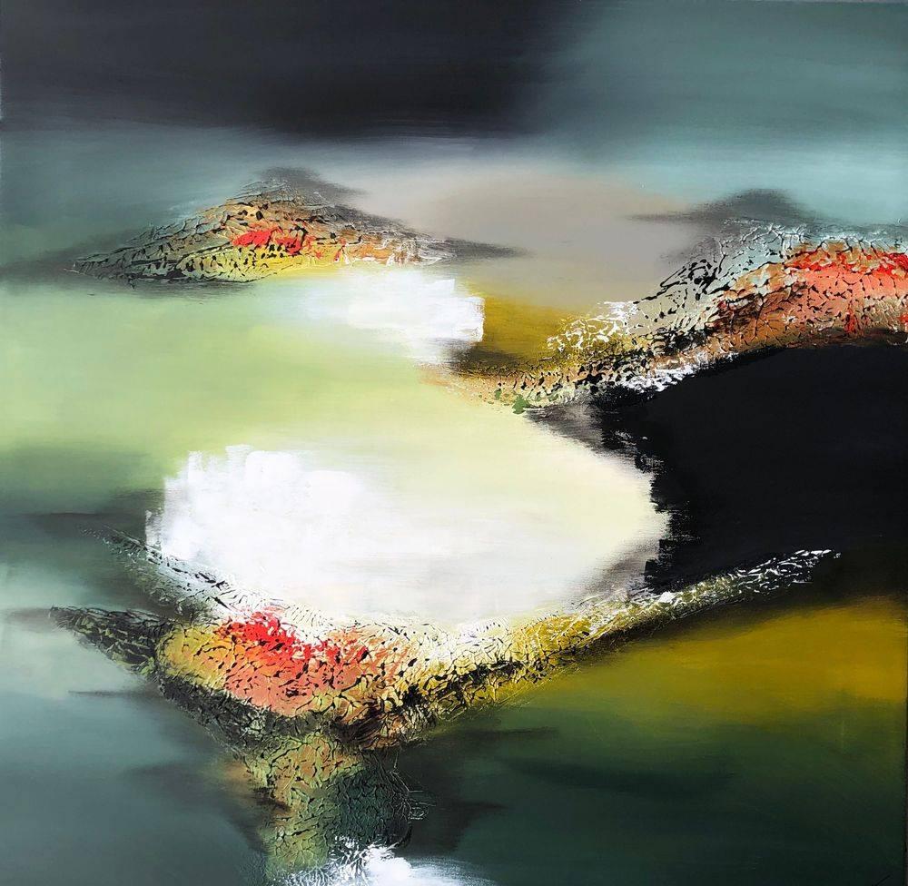 Malerier-til-stue-flotte-farverige-malerier