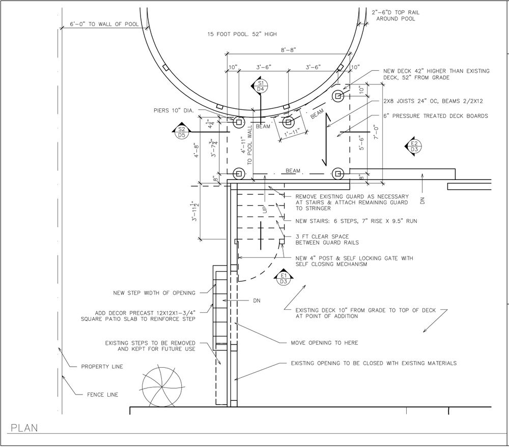 Plan, drafting, construction drawings