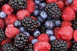 Lots of fresh berries