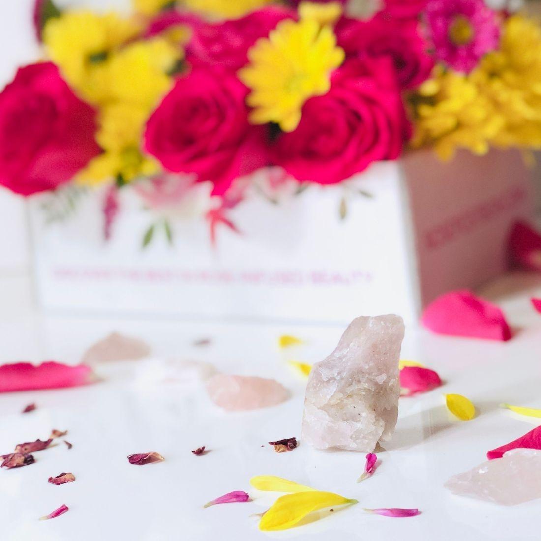 rosepost box, clean rose beauty, best rose beauty, rose oil, green beauty subscription