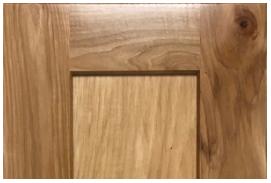 Hickory Shaker Cabinet Door