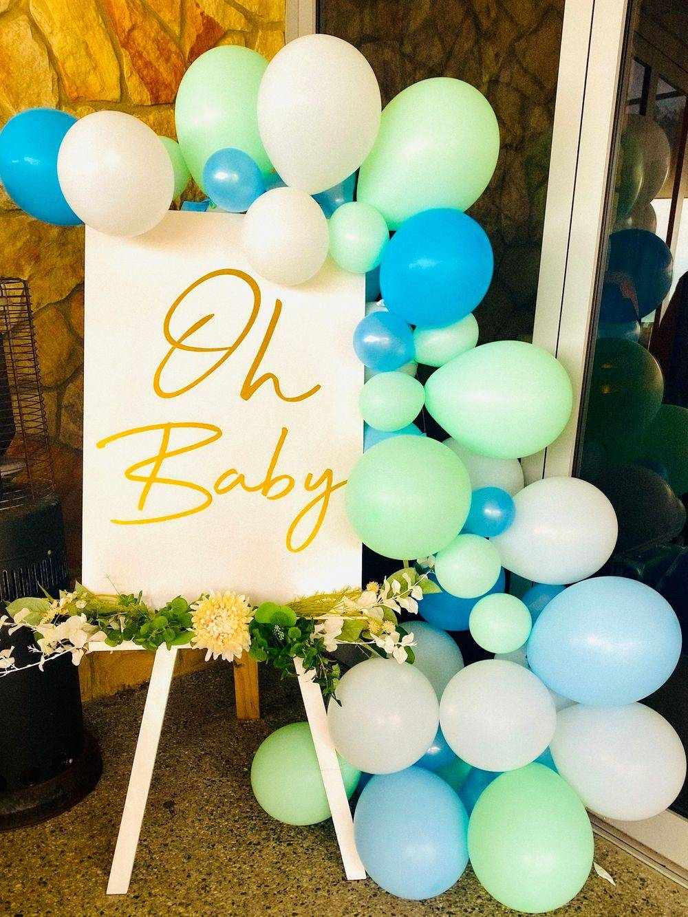Perth Baby Shower Signage Oh Baby