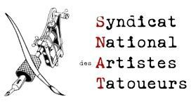 Logo Syndicat National Artiste Tatoueurs