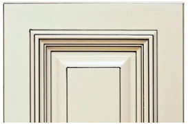 Heritage White Cabinet Door