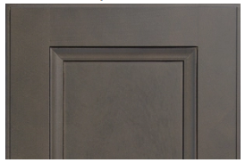 West Point Gray Cabinet Door