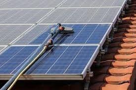 ECOCLEAN 2000 Nettoyage panneaux solaires