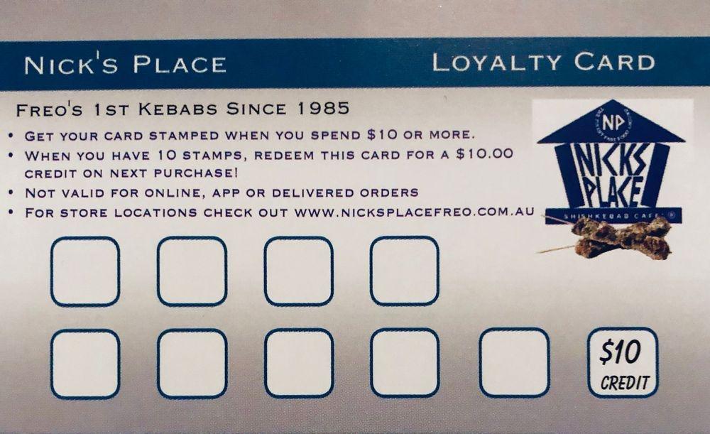 Nicks Place Stamp & Save