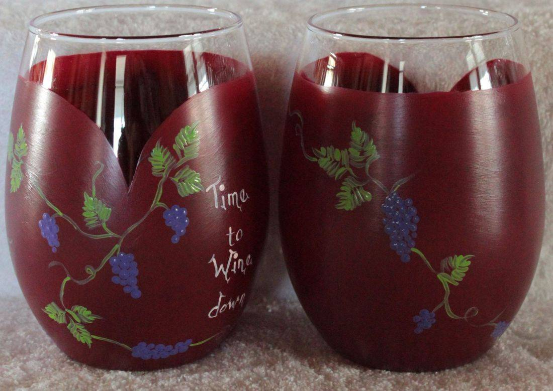 grape wine glass