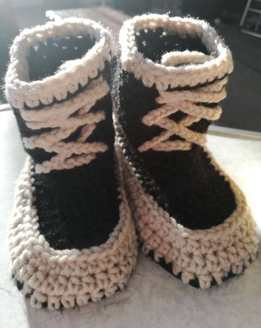 Todder Handmade HiTop Slippers