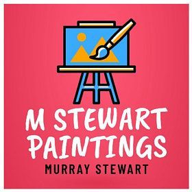MSTEWARTPAINTINGS M Stewart Paintings Murray Stewart British oils and acrylic painter and artist.  Artist of original oil and acrylic landscape paintings.