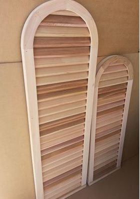 cedar gable vents