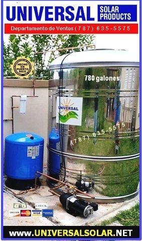 tanque de agua 780 galones