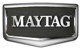 Maytag logo for replacement refrigerator fridge ice & water filter cartridges - stocked and sold at www.aaafilterfast.co.uk