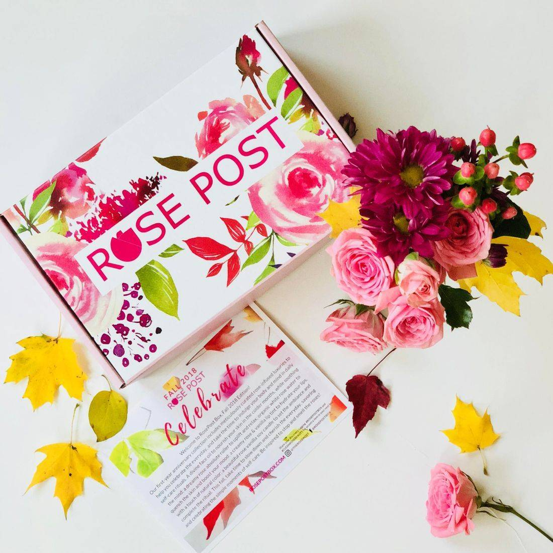 rosepost box, best in rose-infused beauty, best rose water, organic rose-infused skincare, eco subscription boxes
