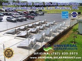 Calentador Solar para farmacéuticas