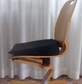 Cuscino a cuneo,per sedile sedia