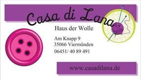 Casa di Lana/ Haus der Wolle 35066 Frankenberg- Viermünden, Am Knapp 9Tel. 06451/ 4089491