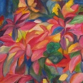 fall leaves painting