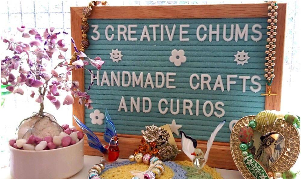 handmade crafts and curios