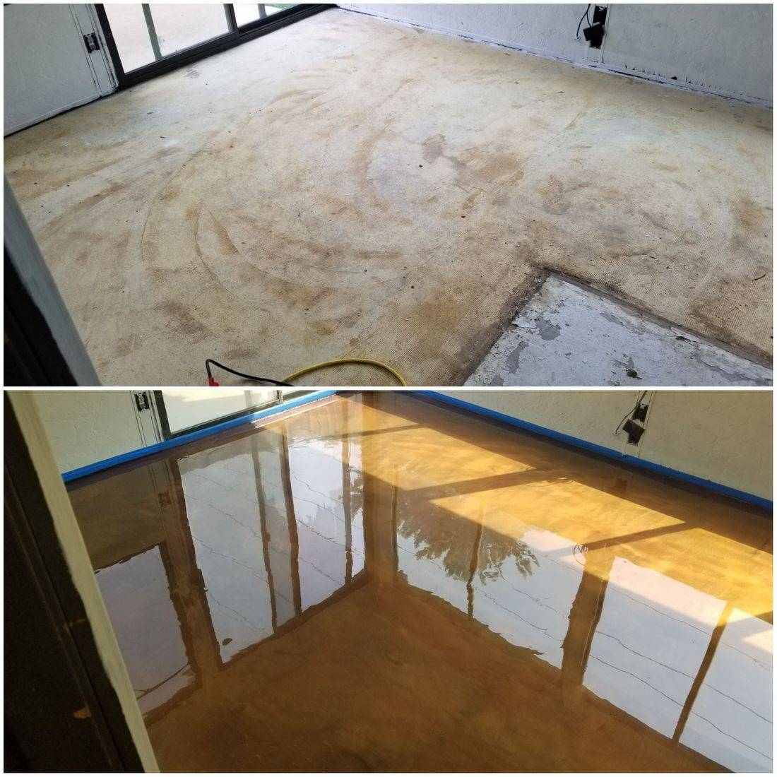 CounterFIT LLC Broken Arrow patio garage interior floors