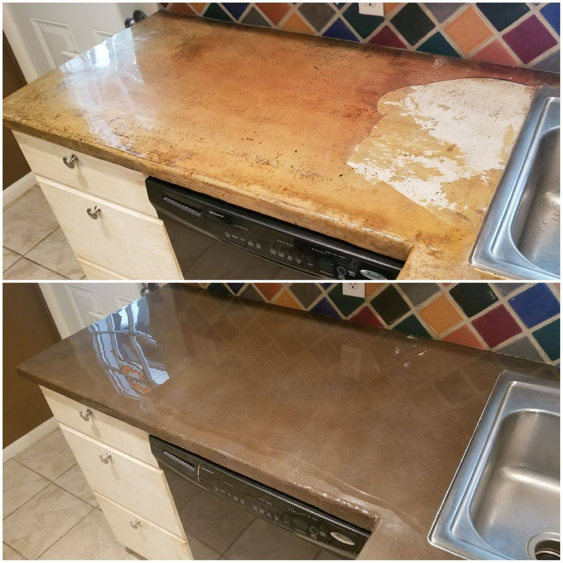CounterFIT LLC - Concrete countertop repair