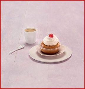 Présentation de gâteau individuel