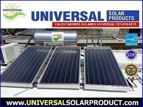 Calentador Solar Universal con 3 placas