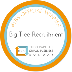 Award from Theo Paphitis, #SBS official winner 2019 on Twitter