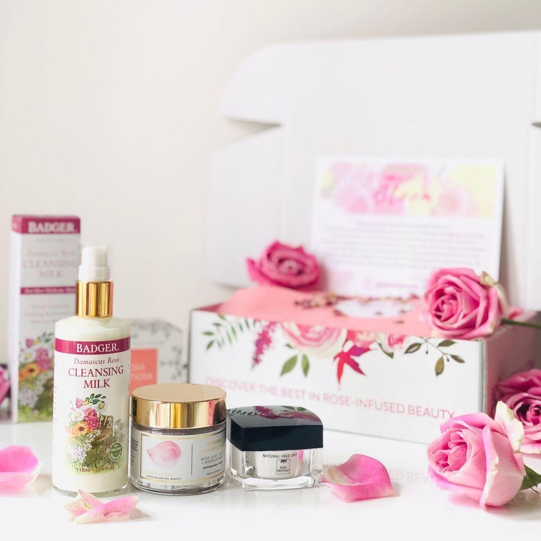 Best Rose-infused Skincare, Clean Beauty Box, Aromatherapy Box, Bulgarian Rose Oil, Rose Oil, RosePost Fall Box, RosePost Box, Green Beauty Subscription, Rose Beauty Box, Green Beauty Box, Valentines Day Gift, Best Rose Skincare