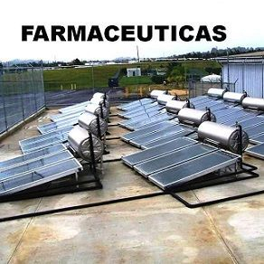 Instalando calentador solar industrial