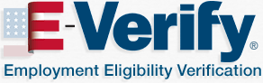 logo-everify.gif and link to there site for more information on what E-Verify is and on how we use it with our employees.