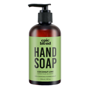 Coconut Lime Hand Soap, Epic Blend, epic blend ottawa, where to buy epic blend, exhalo spa, barrhaven spa, ottawa best spa