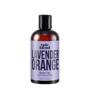 Lavender Orange Body Oil, massage oil, epic blend, canadian made massage oil, exhalo barrhaven, ottawa spa