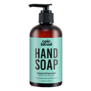 Eucalyptus Lime Hand Soap, Epic Blend, epic blend ottawa, where to buy epic blend, exhalo spa, barrhaven spa, ottawa best spa