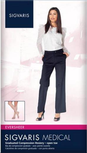 Sigvaaris model wearing eversheer compression socks