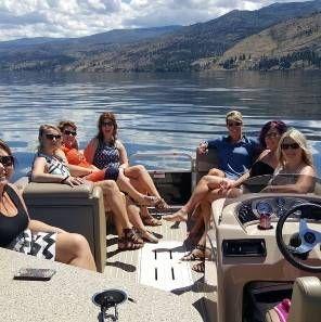 Boat Charters on Okanagan Lake