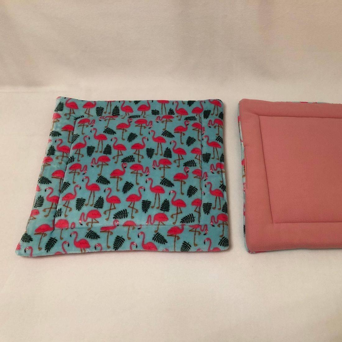 Lap pad show pen pad mint flamingo and rose pink