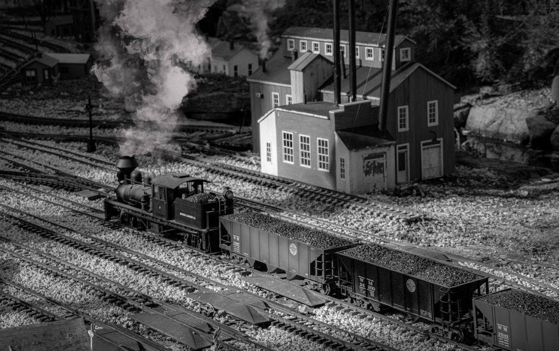 first place over 18 toy train photo