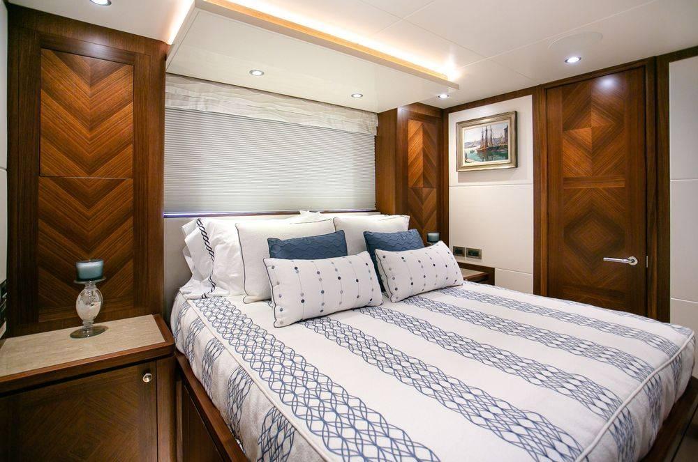 Newport Yacht Interiors, yacht bedding, custom yacht interiors