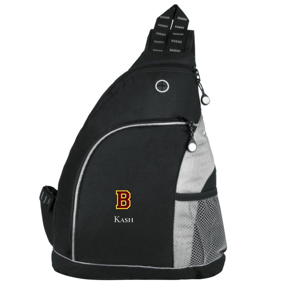 Barnum Bombers Basketball Personalized Sling Bag