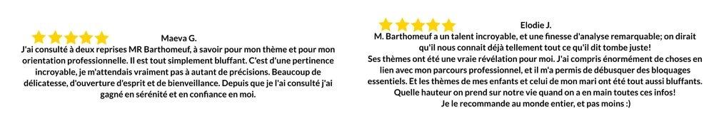Avis Francois Barthomeuf Astrologue
