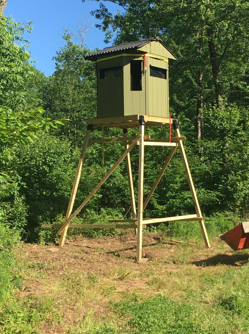 Octagon Hunting Blind