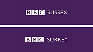 BBC Surrey and BBC Sussex logo