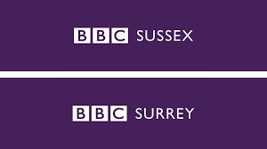 BBC Surrey and BBC Sussex logo