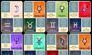 Tarot Astrologique ou oracle des planètes