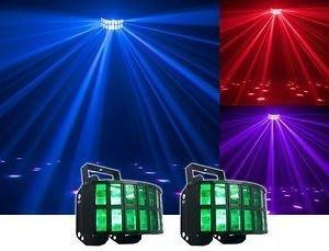 chauvet dual aggressor dancefloor lights for rent